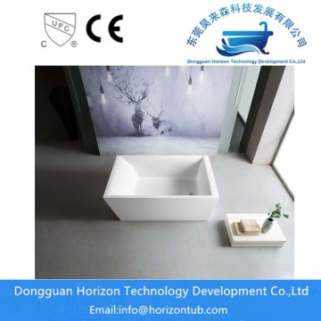 Acrylic High Gloss Finish Acrylic Rectangular Bathtub