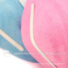 Máscara de cono de plástico transparente con / sin válvula