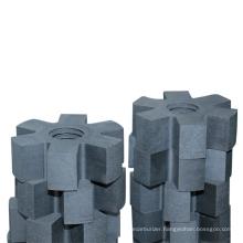 Graphite rotor/graphite impeller/graphite rotor for aluminium melting