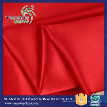 Impression numérique Tissu en satin 100% polyester pour robe