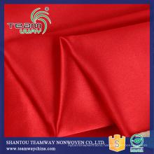 Digital Printing Satin Fabric 100% Polyester For Dress