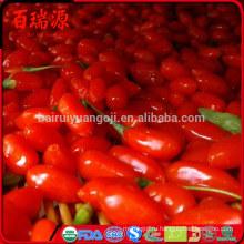 Хорошее качество Новый сухофруктов Нинся сушеные ягоды Годжи 280 зерен