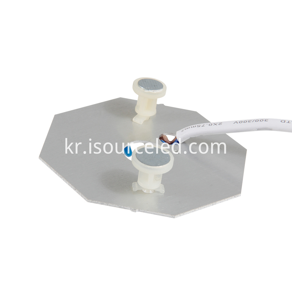 Low side of Lens AC linear white light 8W ceiling module