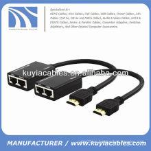 Extensores Ethernet HDMI sobre Cat 5e / Cat6