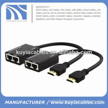 UTP HDMI Extender via Cat5/cat6 cable up to 100 feet (30 meters)