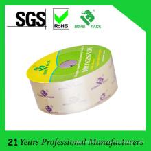 Оптовая продажа Кристл-Ясная лента упаковки bopp для запечатывания коробки