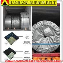 trustworthy black sandwich rubber conveyor belt
