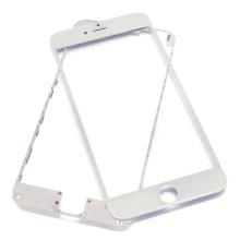 Mayorista Cristal frontal en negro y blanco con marco biselado para iPhone 6 Plus
