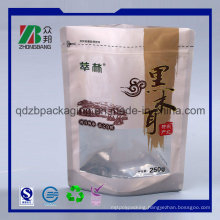 Stand up Pouch Plastic Food Packaging Bags with Zipper
