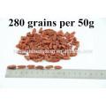 Ningxia Bagas secas de Goji (tamanho Popular 380 Grains / 50g) Frutas Ningxia Gou Qi Zi Lycium