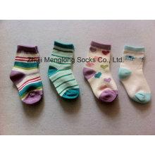 Full Inspected Good Quality Baby Girl Cotton Socks