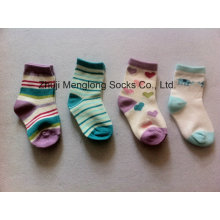 Полный осмотр хорошего качества Baby девушка хлопчатобумажные носки