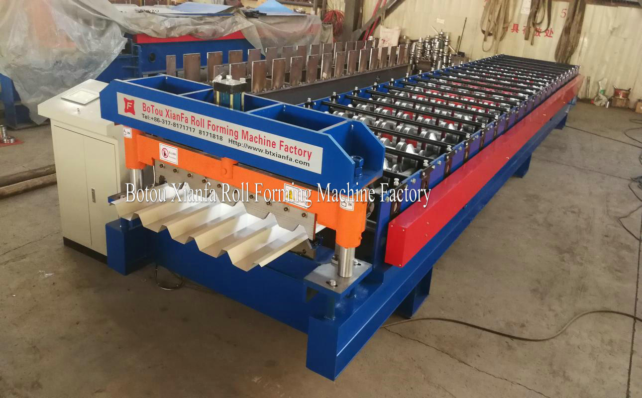 IBR aluminium sheet rolling machine