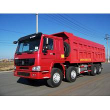 Caminhão de 12 rodas Howo caminhão basculante de 50 toneladas