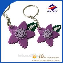 Laser-Schnitt-kundenspezifische Form-freies Acryl-Foto Keychain