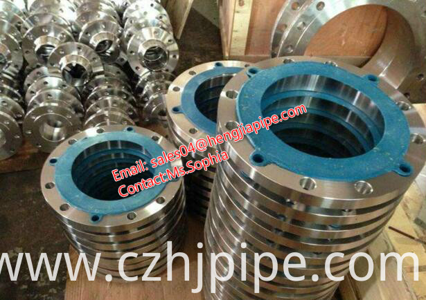 large diameter steel flanges