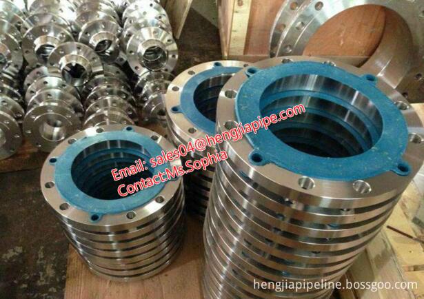 large diameter steel flanges