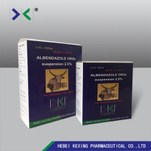 Albendazole Suspension 2.5% Animal