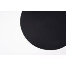 PTFE baking sheet 28 cm round black