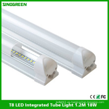 De alta calidad T8 LED integrado tubo de luz LED tubo de la lámpara de 1,2 m 18W