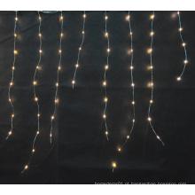 luz de cobre micro conduzida / icicle & luzes de cortina