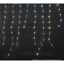 lumière micro menée par cuivre / glaçon et lumières de rideau
