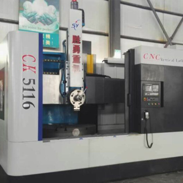 Double column CNC vertical lathe sales