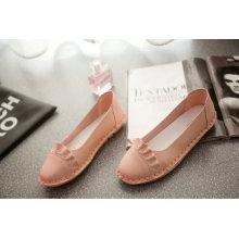 Zapatos de mujer con plataforma superior de gamuza Tassels Zapatos de mujer embarazada