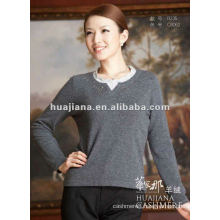 elegant young ladies cashmere sweater