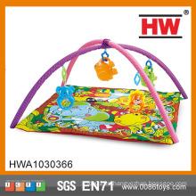 Venta caliente Funny bebé actividad estera niños plegable barato bebé jugar alfombras