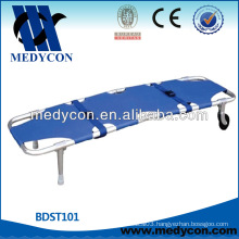 aluminum alloy foldable stretcher (two parts)