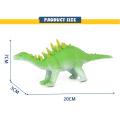 Shantou por atacado, brinquedo de borracha, brinquedo dinossauro modelo animal para crianças
