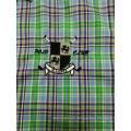 Camisa de negocios de manga larga 100% algodón para hombre