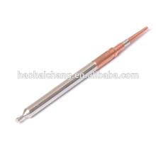 Pinos terminais de fixação de cobre e aço inoxidável