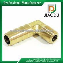 """Fabrication en Chine 1/4 """"ou 1/2"""" en laiton nickelé réduisant le coude de 45 degrés femelle pour les tuyaux pex al pex"""