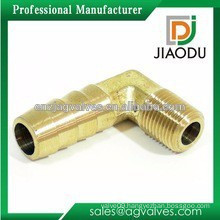 china manufacture 1/4'' or 1/2'' brass nickel plated reducing 45 degree elbow female for pex al pex pipes