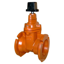 Mechanical Jont Resilient Gate Valve, Non Rising Stem