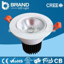 CRI> 90 llevó luz downlight llevó downlight con Cob 10/20 / 30W CE RoHS AC85-265V 2700-6500K