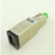 Produits les plus vendus SC APC femelle à mâle 3db 5db 10db 15dB fibre optique Atténuateur, SC APC femelle optique optique masculine