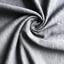 Factory Supply for fashion spandex linen fabric Linen elastane single jersey knitted fabric export to Lesotho Manufacturer