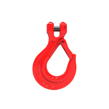 Shenli Rigging g80 forged alloy safety hook clevis sling hook with forged latch