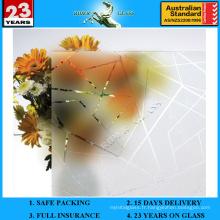 Verre décoratif 3-12mm AS / NZS 2208