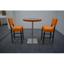 orange bar chair and table for sale XYN1250
