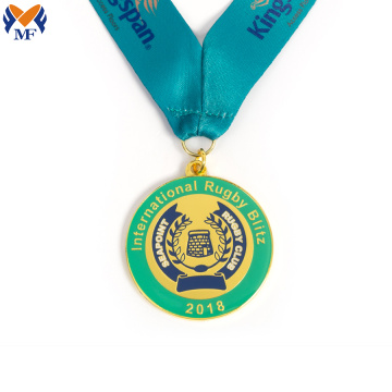 Luxe design internationale club rugby club medaille