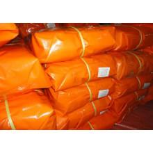 China Finished Orange PE Tarpaulin Sheet, HDPE Tarp/HDPE Laminated Tarpaulin