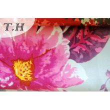 Flower Printed Super Soft Velvet for Sofa, Upholstery