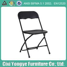 Cadeira dobrável de plástico barato para reposição doméstica