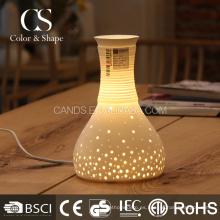 Las lámparas decorativas de cerámica de la forma del florero de China al por mayor