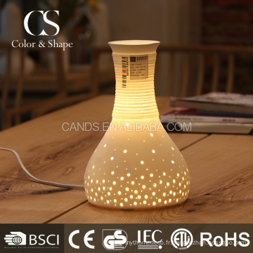 Chine en gros vase en céramique forme décorative lampes de table