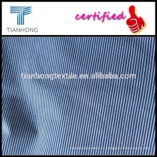 rayures fils teints Popeline/femme sac hanche jupe tissu/texturé jupe tissus